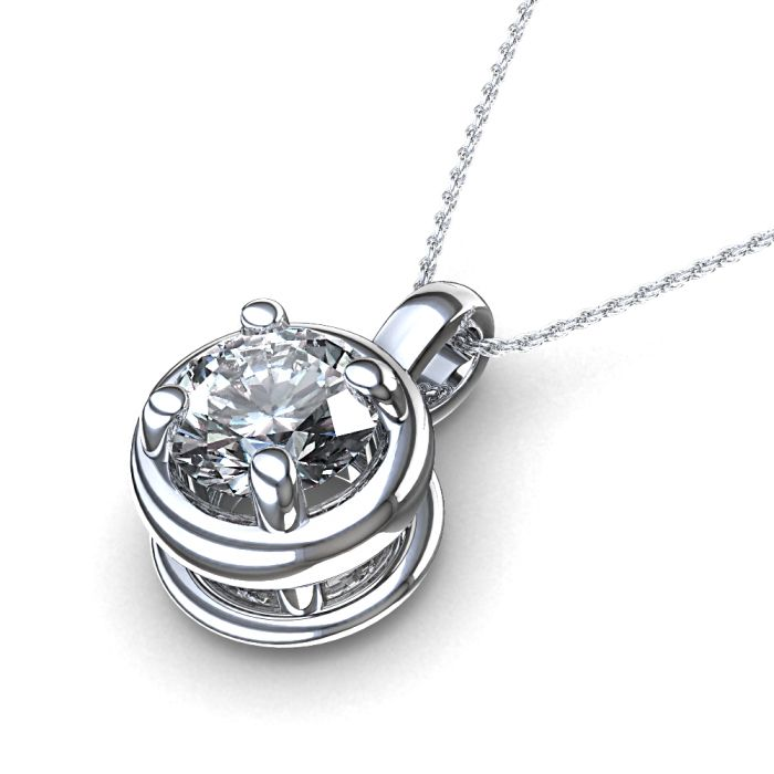 Diamond solitaire pendant google search my style pinterest diamond solitaire pendant google search aloadofball Images
