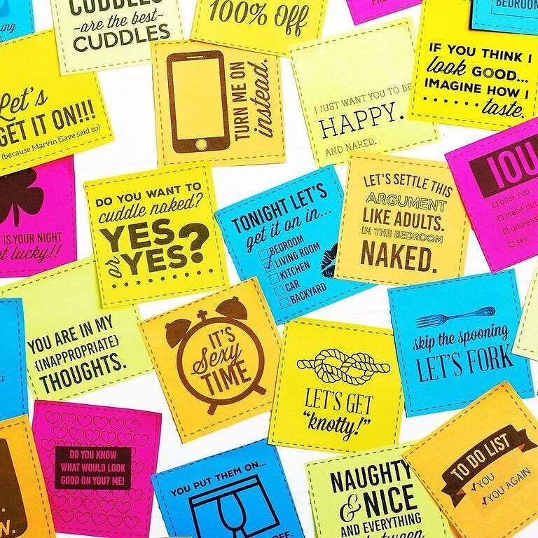 Sexual printable love notes