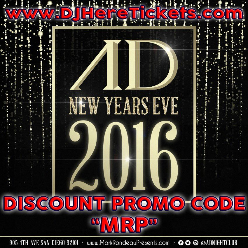 New Years Eve with DJ Spags Ticket promo, Promo codes