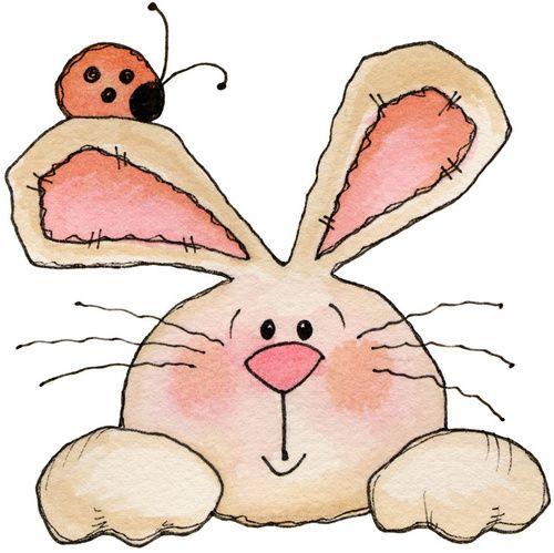 Рисунки прикольный заяц, тыквами хэллоуин