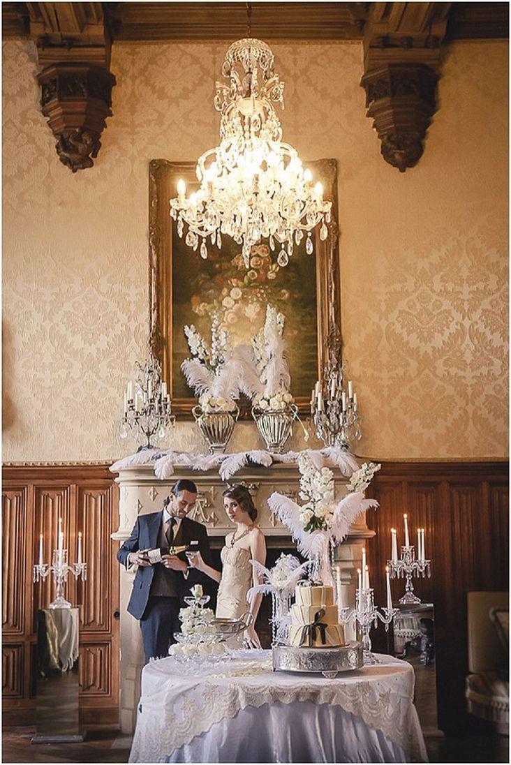 1920s wedding decoration ideas   Great Gatsby Wedding Theme Ideas  Gatsby wedding Theme ideas