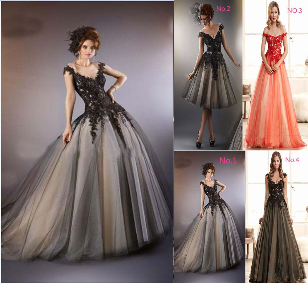 Formal shortlong evening ball gown party prom bridesmaid dress