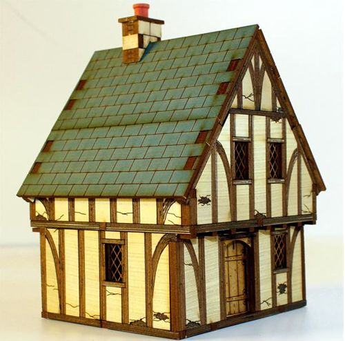 28mm Laser Cut MDF Buildings and Accessories | DL2 Project 4