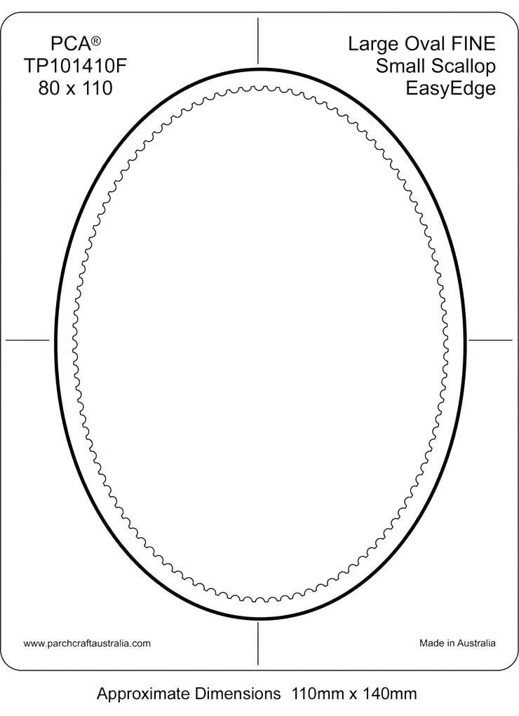 Oval Coloring Page Images Of Oblong Template Printable