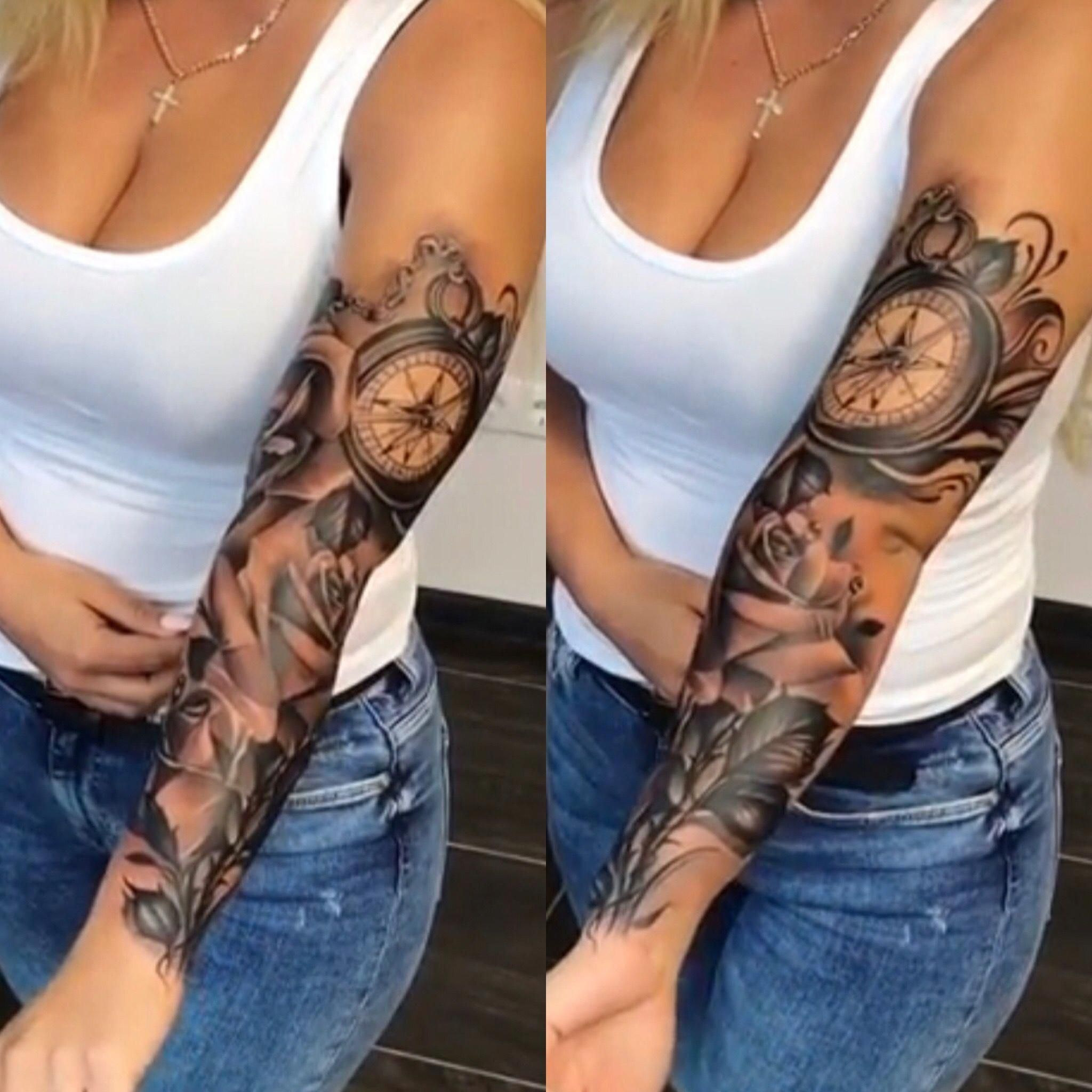 Half Sleeve Tattoo Ideas With Meaning Halfsleevetattoos Sleeve