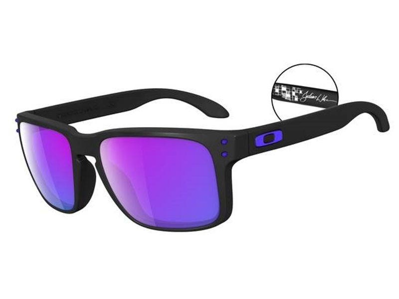 Oakley Holbrook Sonnenbrille Mattschwarz OO9102-01 57mm 61V8IqAdL