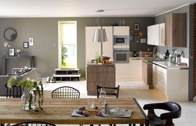 Cuisine ouverte  15 modèles de cuisiniste Kitchens