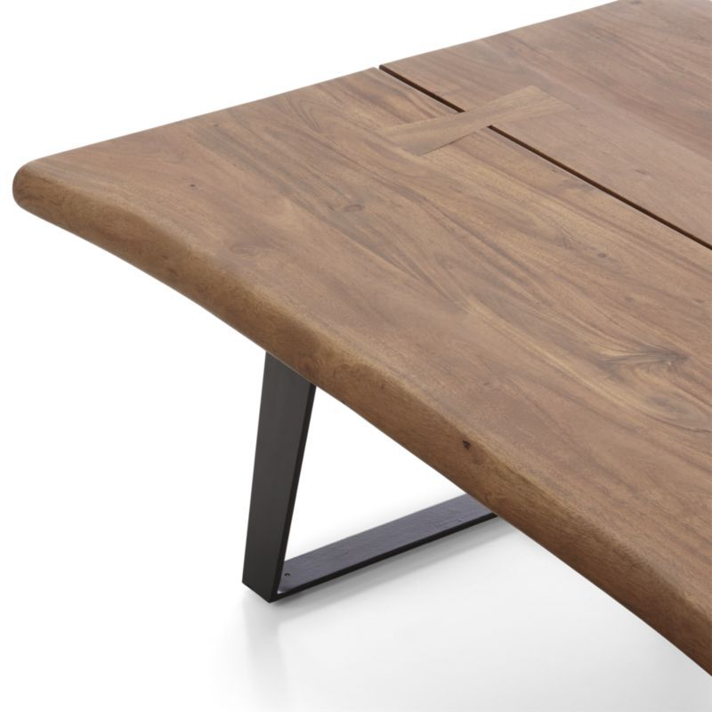 Yukon Natural Coffee Table Reviews Crate And Barrel In 2020