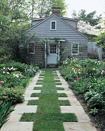Love the non traditional driveway   Garden   Pinterest   Driveways ...