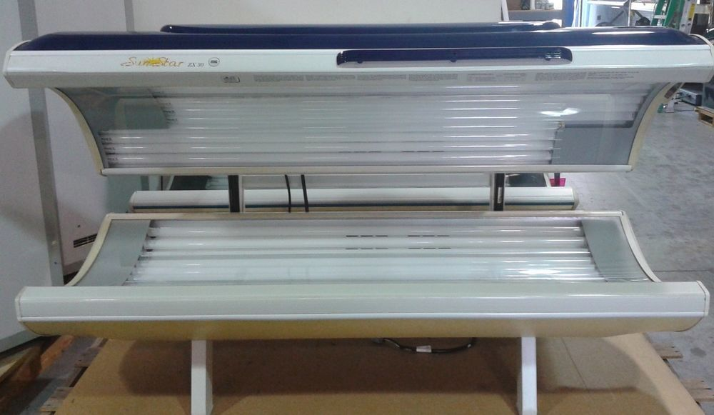 Tanning Bed Sunstar Zx 30 Model 20 Minute Tan Time Sunstar Tanning Bed Tanning Home Appliances