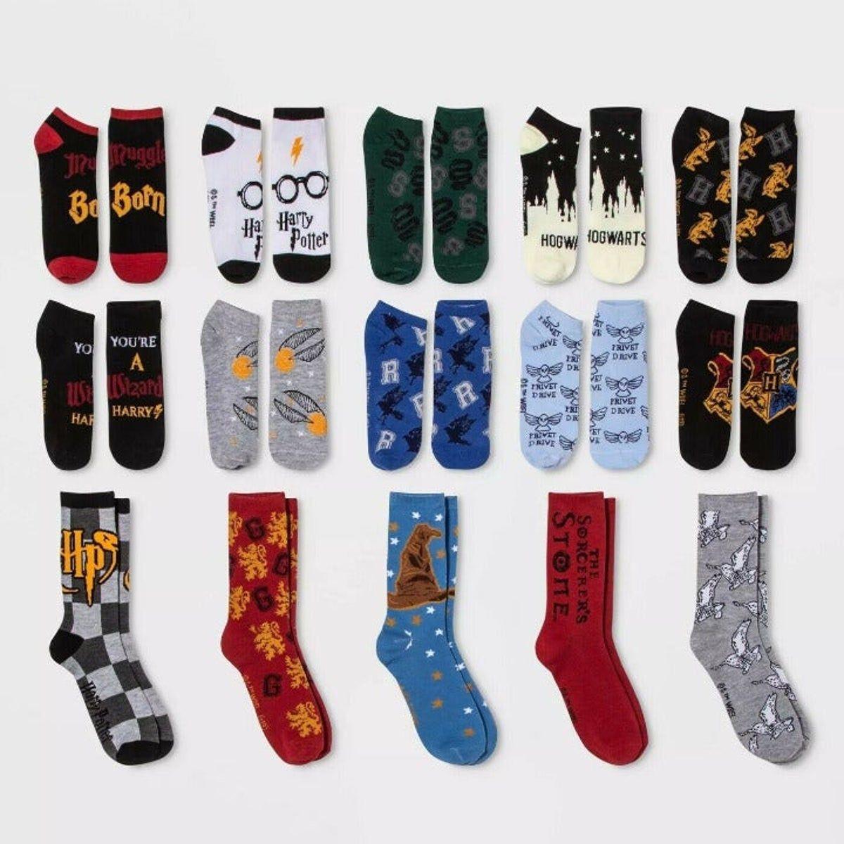 Women's Harry Potter Socks 15 Pair New on Mercari