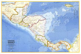 pan american highway central america map - Google Search | Bucket ...