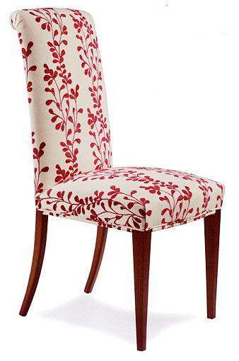 Silla tapizada paulina muebles pinterest muelle for Como tapizar una silla