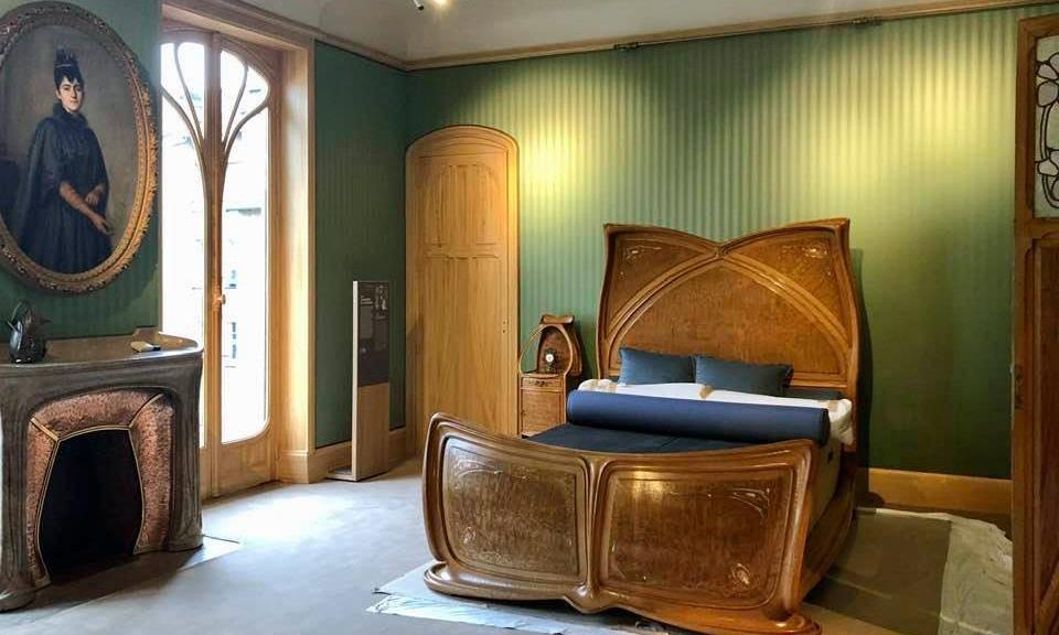 Reouverture De La Villa Majorelle A Nancy Embleme De L Art Nouveau La Chambre En 2020 Art Nouveau Peristyle Architecture Art Nouveau
