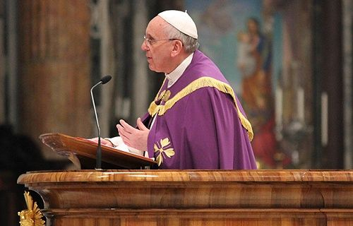 In his Mass said Monday, Pope Francis reflected on the biblical scene in which Jesus prevents the stoning of an adulterous woman, observing ...