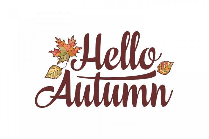 Hello Autumn. Lettering #helloautumn