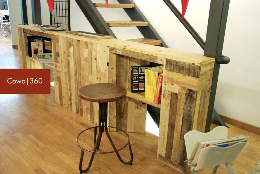 Mobili Recupero ~ Mobile in legno di recupero per cowo bi laboratorio linfa