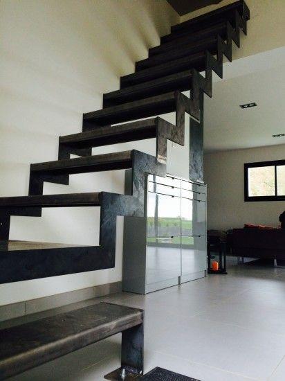 Escalier Cremaillere Quart Tournant Avec Images Escalier En