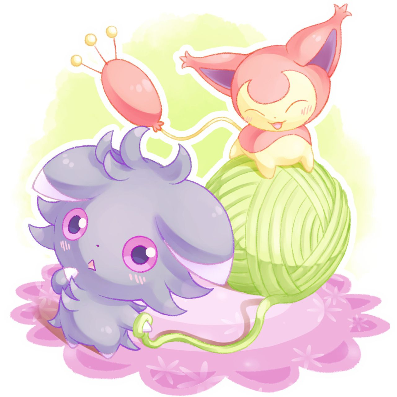 Skitty and espurr nyaapa meowstic and other pokemon cute pokemon pokemon fan art cat pokemon - Pokemon skitty ...