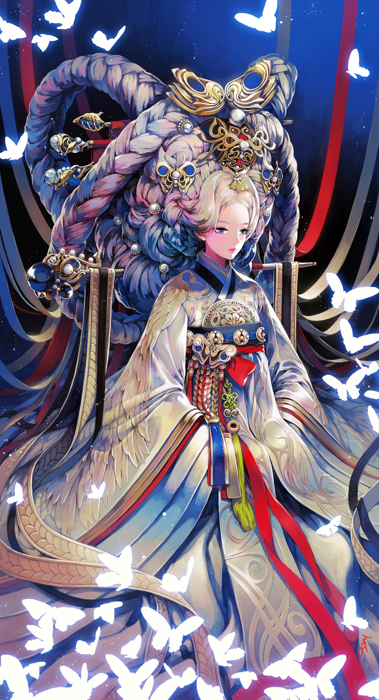 추쿠최윤정 on Korean art, Character art, Anime