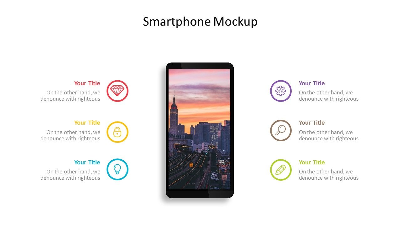 Smartphone Mockup Powerpoint Template