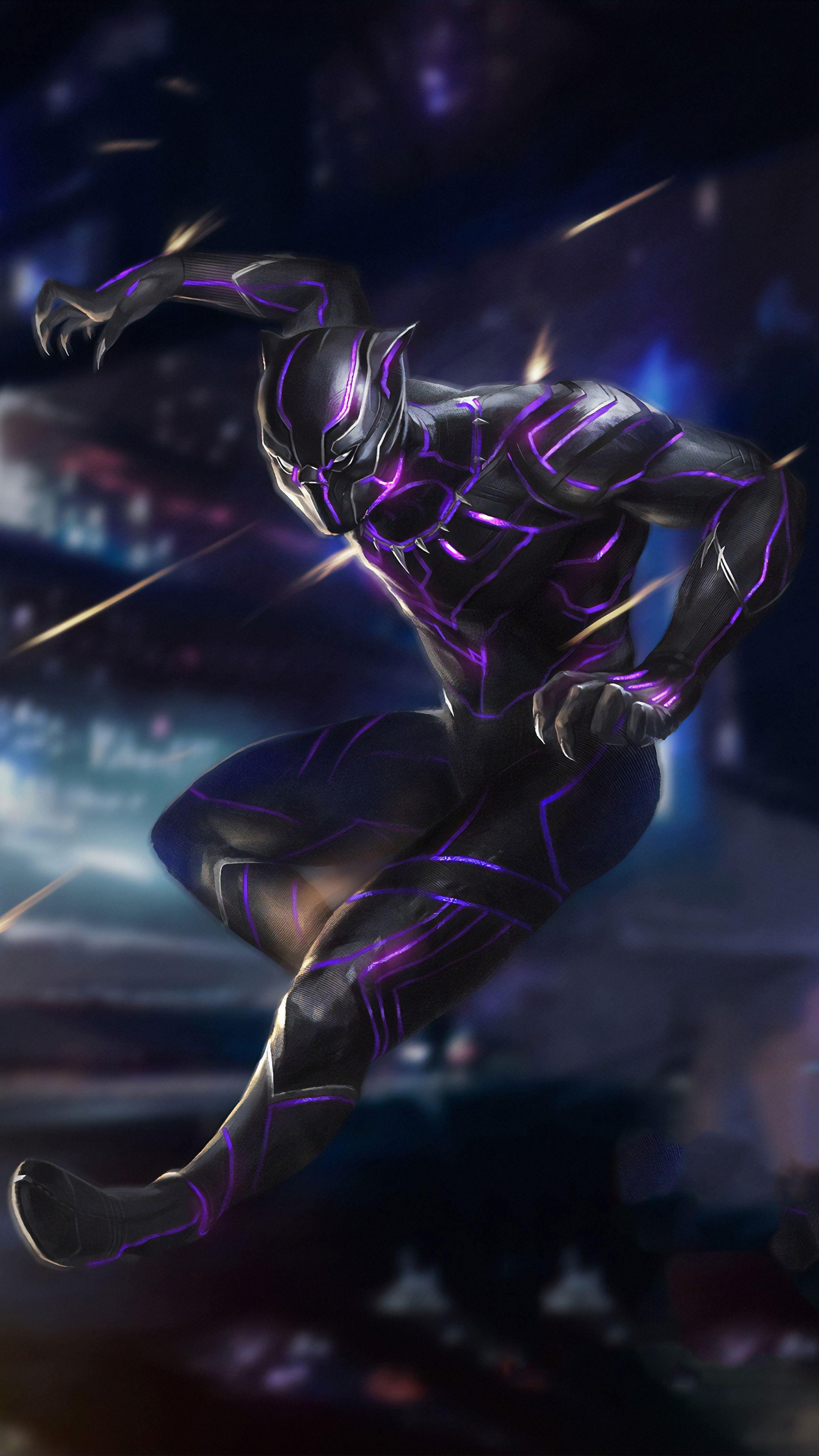 Black Panther Wallpaper 4k Mobile Gallery Black Panther Black Panther Art Black Panther Marvel