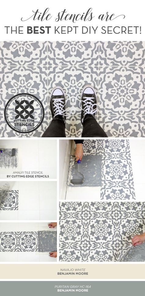 Tile Stencils Are The Best Kept Diy Secret House