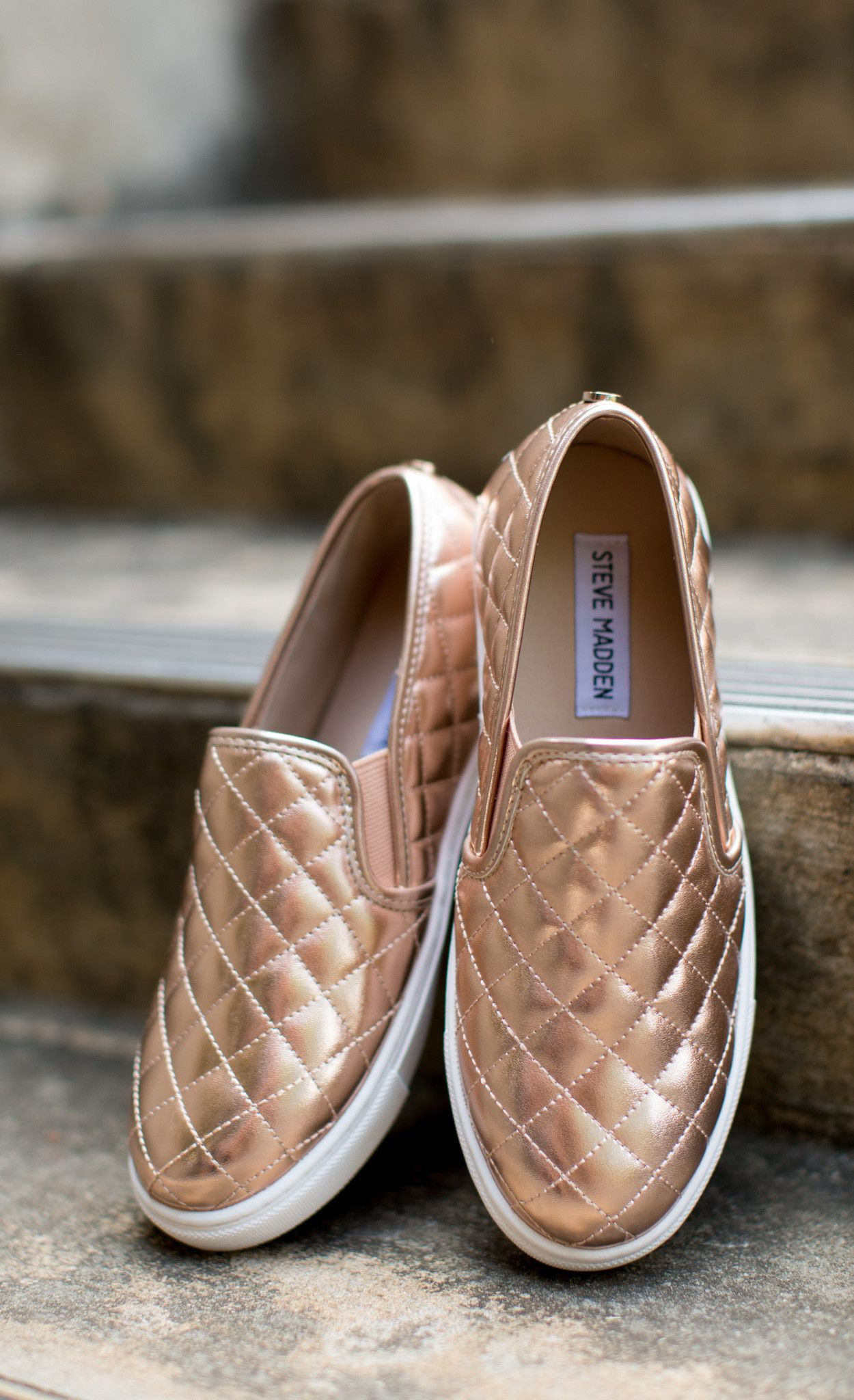Steve Madden Pastel Rose Gold Espadrilles Casual Sneakers clearance in China cheap sale latest discount buy buy cheap deals GH9memw