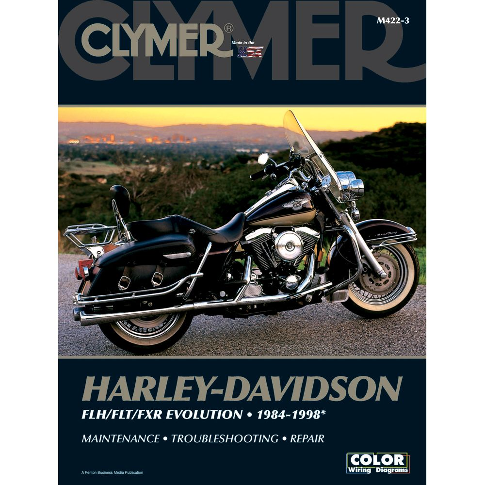 Clymer Harley Davidson Flh Flt Fxr Evolution 1984 1998 Boat Parts For Less Clymer Harley Davidson Harley