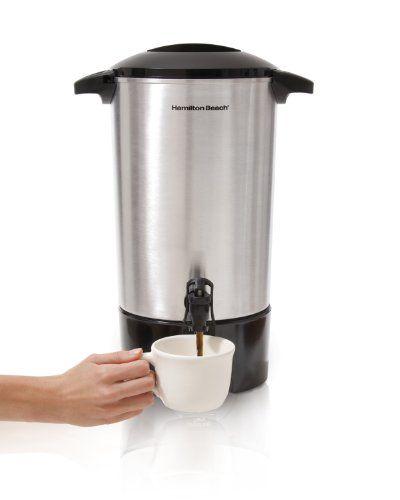 Hamilton Beach 40516 Coffee Urn 42 Cup Hamilton Beach Http Www Amazon Com Dp B003tozkrm Ref Cm Sw R Pi Dp Tqluub03ham57 Coffee Urn Coffee Maker Coffee Store
