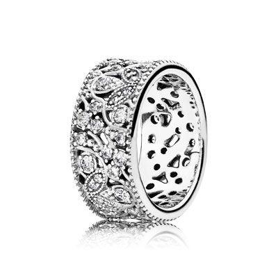 anello fiore orientale pandora