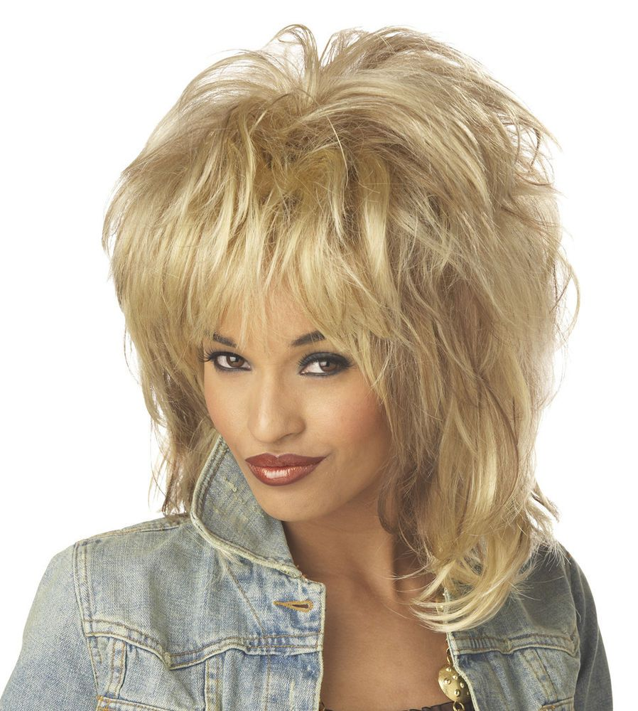 Tina Turner Rockin/' Diva Wig for Halloween Costume
