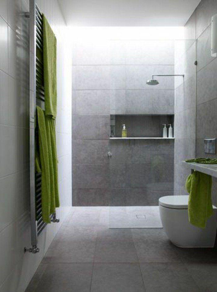 La salle de bain avec douche italienne 53 photos! - salle de bain ardoise
