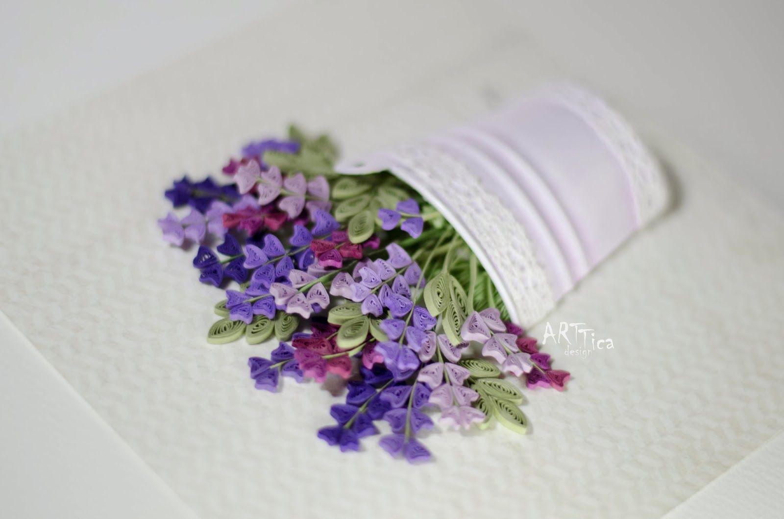 Artticadesign Quilling Quilling Flowers