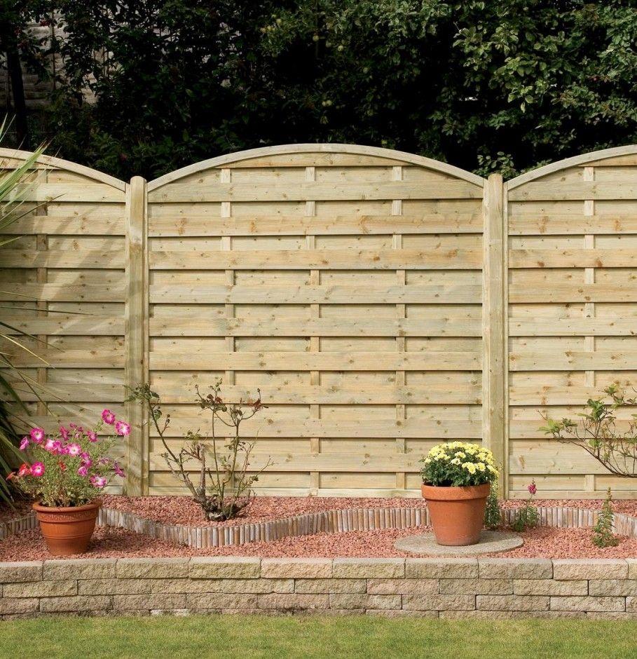 Garden & Landscaping, Great Bright Garden Fence Design Plus Splendid ...