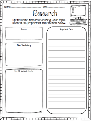 graphic organizers for research papers elementary These free graphic organizers include webs for preparing to write, flow charts for sequencing, persuasive and expository essay maps, customizable organizers.
