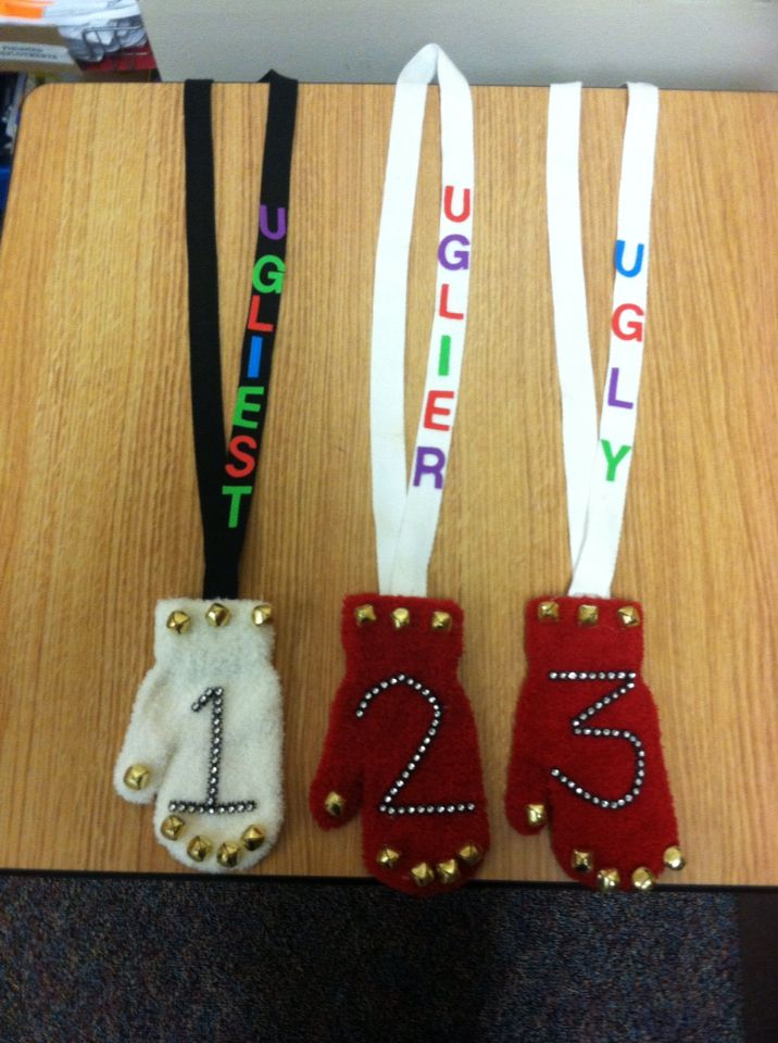 Awards For Winning The Ugliest Holiday Sweater Contest Diy Christmas Sweater Work Christmas Party Tacky Christmas Party