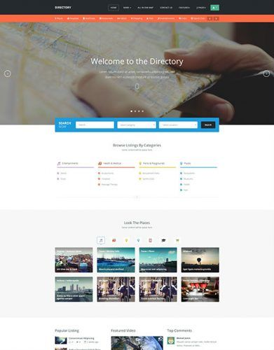 Current version: 1.0.3 Documentation: https://www.joomlart.com/documentation/joomla-templates/ja-directory JA Directory - Responsive Joomla 3 template is a wonderful solution for a Directory...