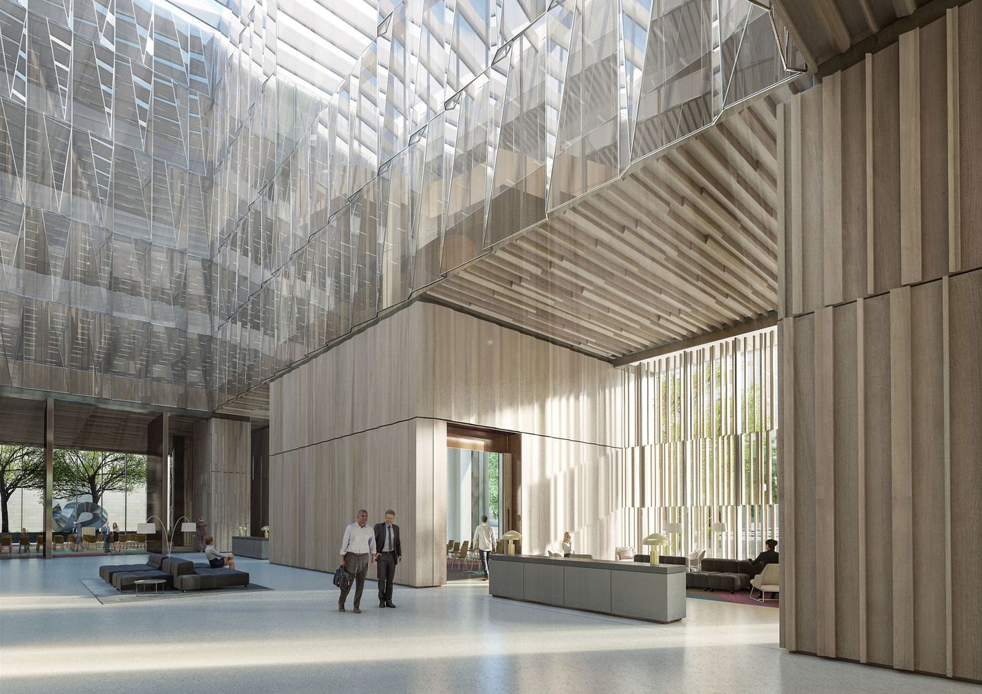 Galería de Bates Smart presentan diseño de la nueva embajada de Australia en Estados Unidos - 4