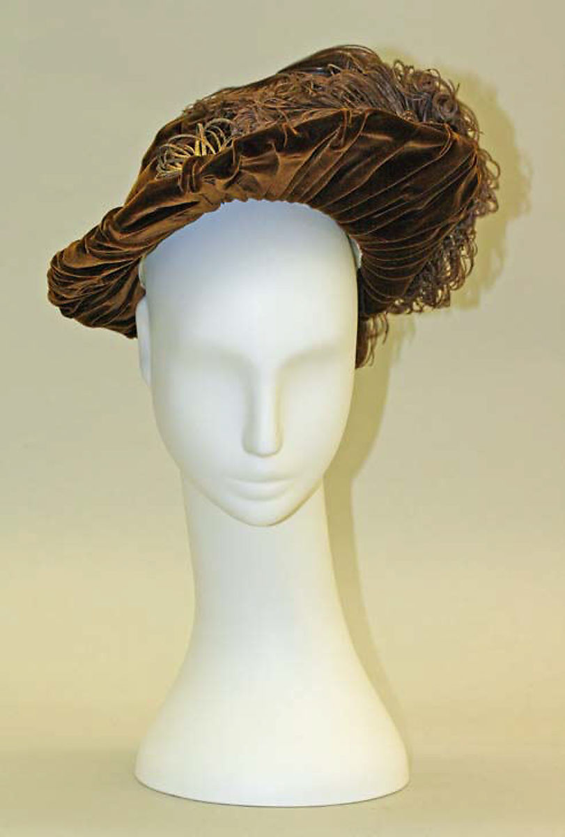 Hat French The Met Victorian hats, Hats vintage, Hats