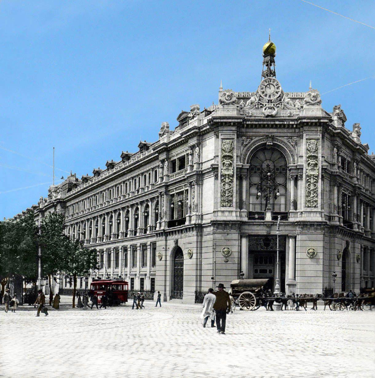Banco de España, 1906 - Portal Fuenterrebollo