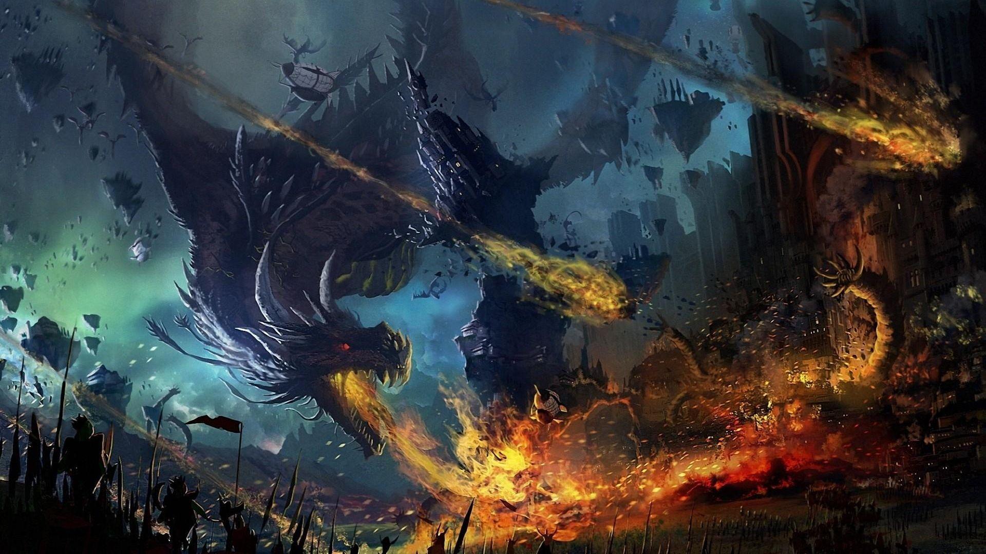 Dragon Scale Wallpaper