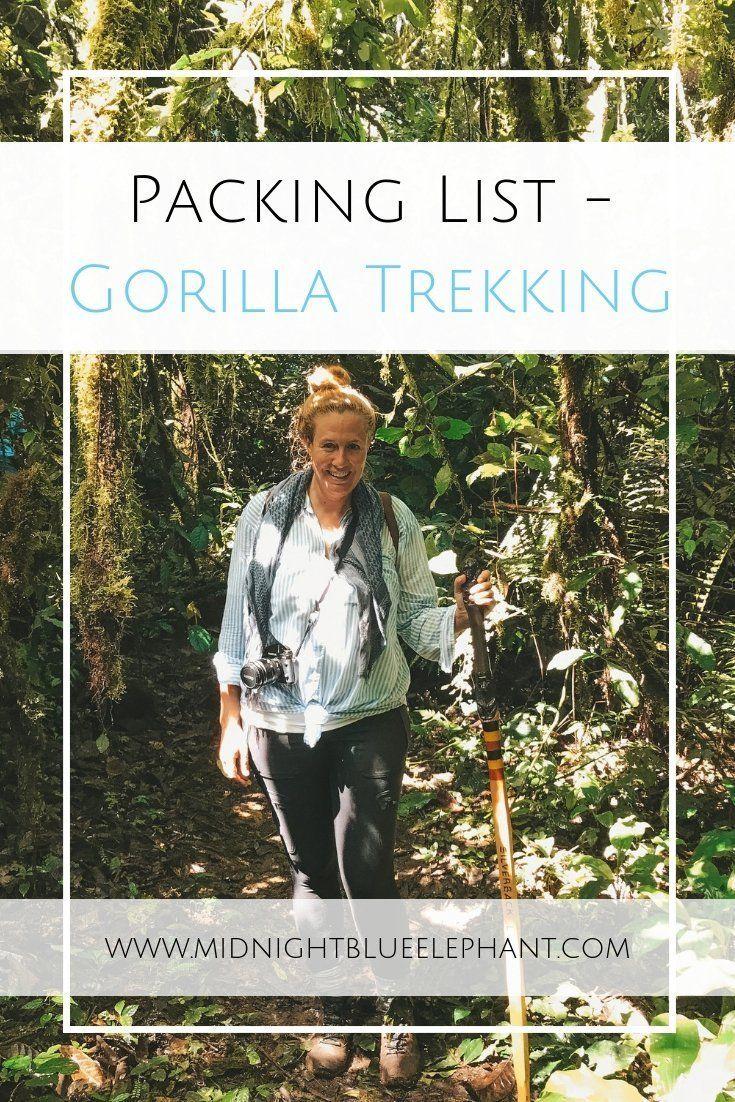 Packing List - Gorilla Trekking Clothes.