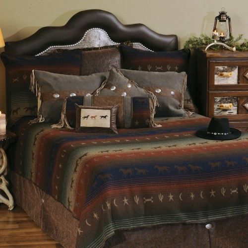 Mustang Canyon Western Bed Sets Schlafzimmer Pinterest Bed