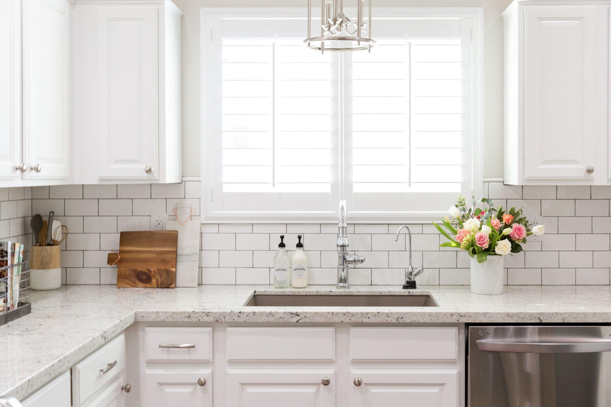 Colonial White Lexi Westergard Design Vermont Remodel Kitchen Subway Tile White Subway Tile Kitchen Kitchen Backsplash Designs White Granite Kitchen