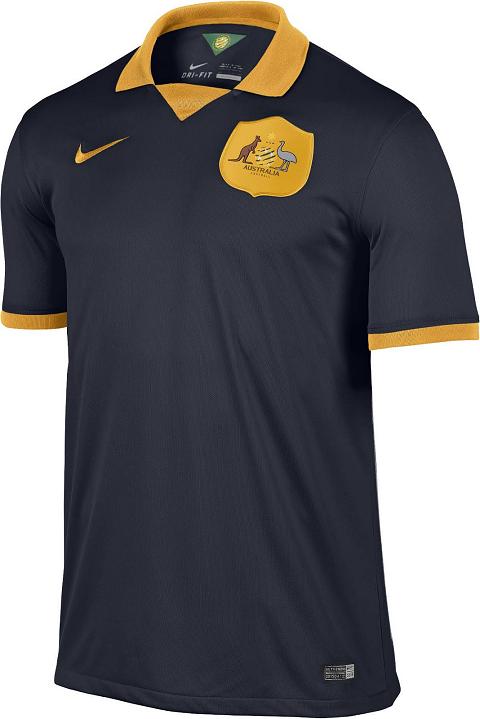 Uniforme reserva da Austrália é confirmado - Coleção de Camisas.com ... e904f8de921ff