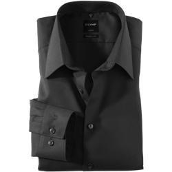 Photo of Olymp Luxor Hemd, modern fit, New York Kent, Schwarz, 43 Olymp