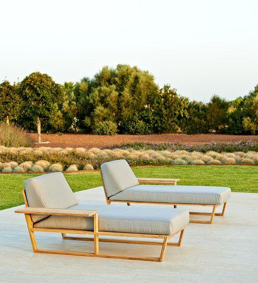 Garden armchairs Garden lounge Lineal Point Gabriel Check