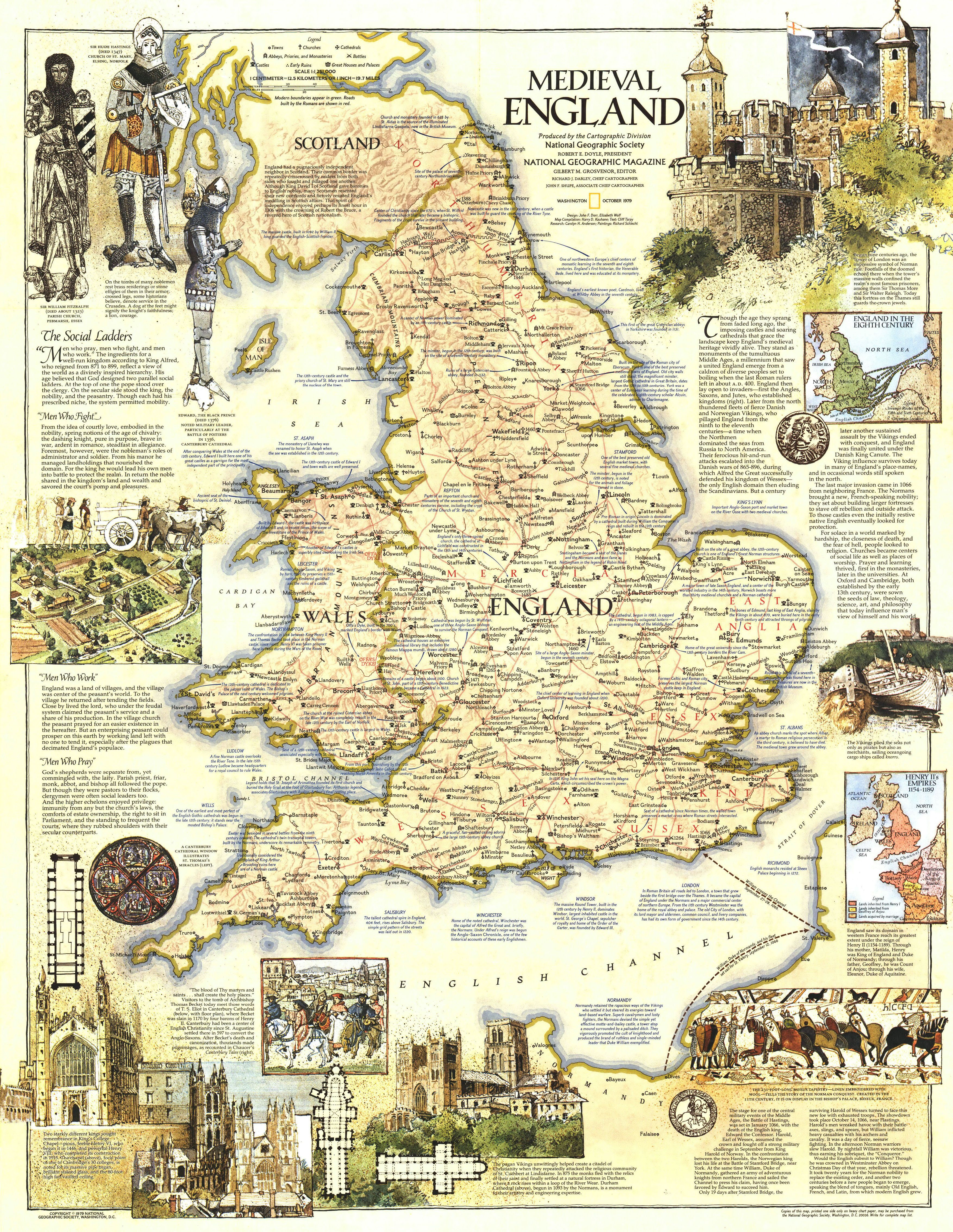 Map of Medieval England  Historical facts  Pinterest  Medieval