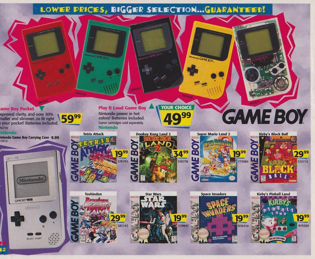 90s Toys Here S What A Toys R Us Catalog Looked Like In 1996 Business Gameboy Classic Video Games Toys R Us